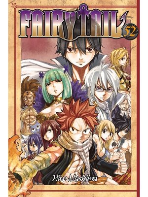 cover image of Fairy Tail, Volume 52